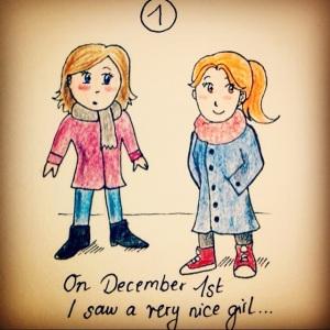 Lesbischer Adventskalender: 1. Dezember