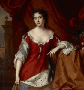 Lesbische Prinzessinnen: Queen Anne, circa 1684 (Willem Wissing & Jan van der Vaardt)